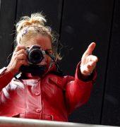 professionele of semi-professionele camera