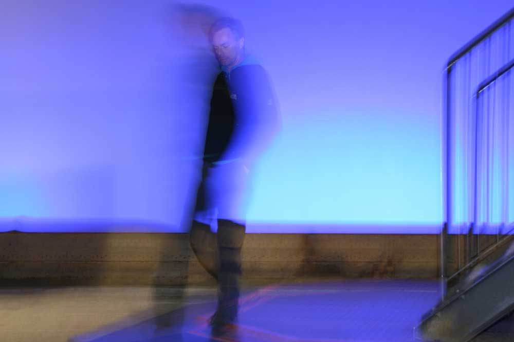Flitsen met een Reportageflitser, slow sync flash. Foto: Tineke Spoelstra